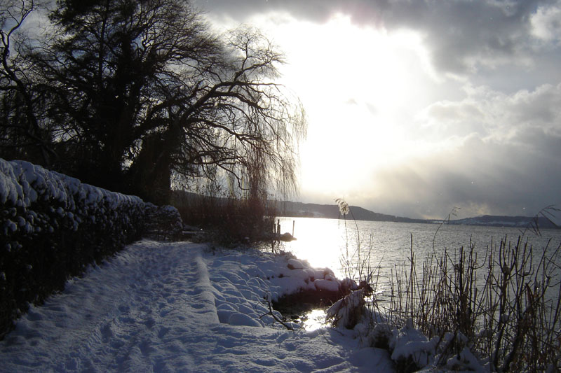 Bielersee im Winter